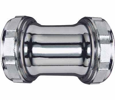 Plumb Pak PP169 1 1/4 Inch 22 Gauge Straight Coupling Elbow