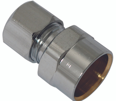 Plumb Pak PP79PCLF 1/2 Inch Sweat By 3/8 Inch Od Straight Connectors