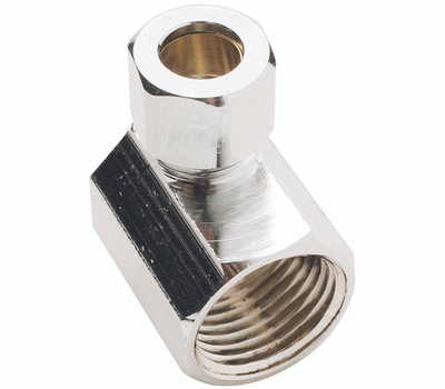 Plumb Pak PP76PCLF 1/2 Inch Fip By 3/8 Inch Od Angle Connectors