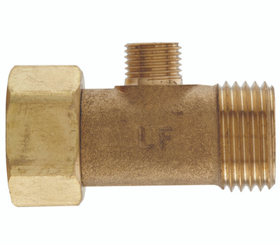 Plumb Pak PP2039LF 1/2 Inch By 1/2 Inch By 1/4 Inch Add-A-Tee
