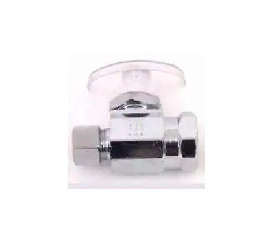 Plumb Pak PP20052LF 3/8 Fip By 3/8 Od Quarter Turn Straight Valve