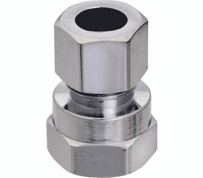 Plumb Pak PP20073LF 1/2 Inch Fip By 3/8 Inch Od Straight Connectors