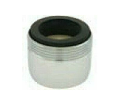 Plumb Pak PP800-204LF Pp800-200 Series Faucet Aerator, 15/16-27 X 55/64-27 Male X Female Thread, Chrome, 1 Gpm