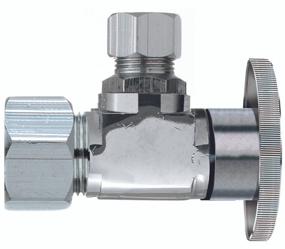 Plumb Pak PP61PCLF 1/2 Compression By 3/8 Quarter Angle Valve