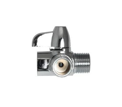Plumb Pak PP825-83 Valve Shower Diverter, Polished Chrome, for: Wall-Mount and Handheld Showers