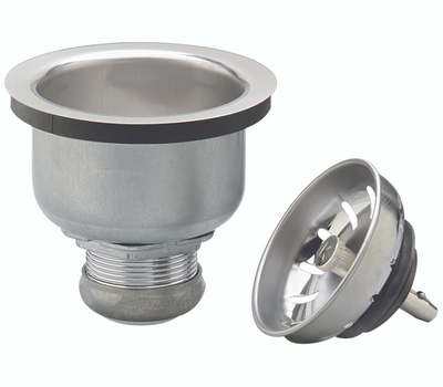 Plumb Pak PP5413 Strainer Stainless Steel Balldeep Cup Lock