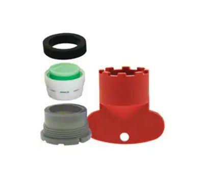 Plumb Pak PP800-223LF Faucet Aerator, Male, Plastic, 1.5 Gpm