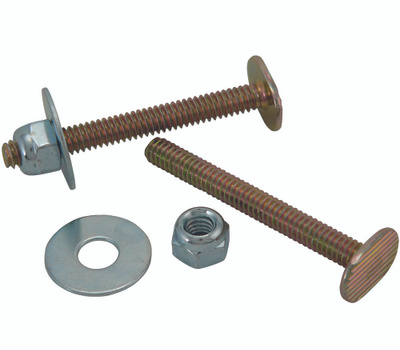Plumb Pak PP23516 1/4 By 2 1/4 Inch Toilet Bolt Set Pack Of 2