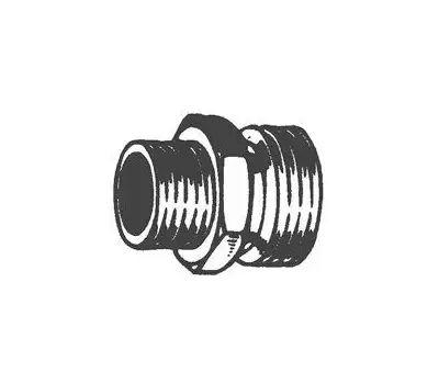 Plumb Pak PP850-50 Hose Adapter, 3/4 X 1/2 in, Mht X Mip, Brass, for: Garden Hose