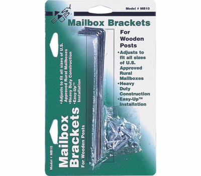 Solar Group MB100000 Mounting Bracket, Galvanized Steel, 5-3/4 in L X 1 in W Dimensions