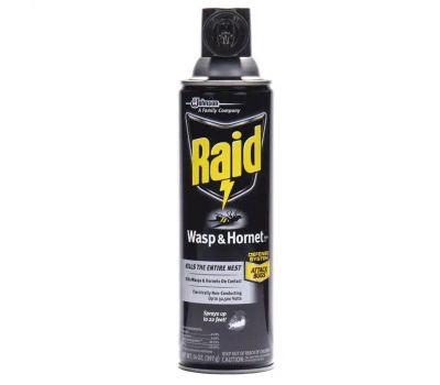 SC Johnson 01353 Raid Wasp and Hornet Killer, Gas, Spray Application, 14 Ounce Aerosol Can