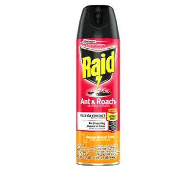 SC Johnson 77533 Raid Ant/Roach Spray Orange 17.5 Ounce