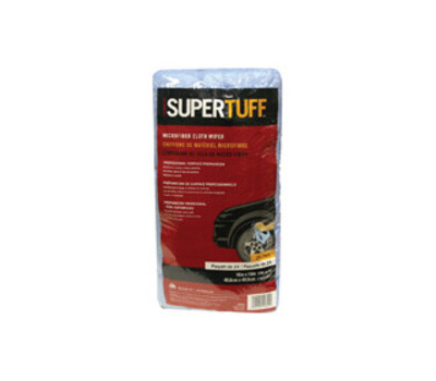Trimaco 10824 Wiper Microfiber Blu 16in 24pk 24 Bag