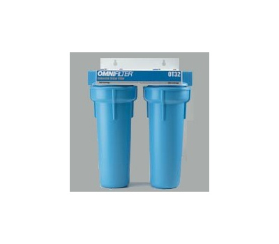 Pentair OT32-S-S06 Undersink Dual Cartridge Filter