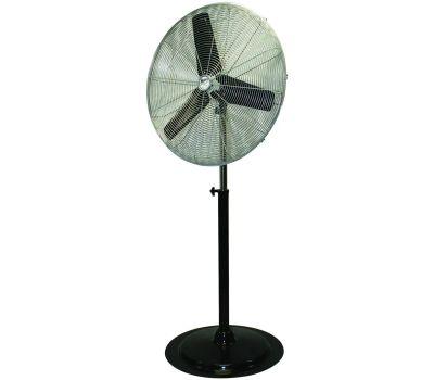 Ventamatic HVPF 30 OSC Maxxair Heavy-Duty Oscillating Pedestal Fan, 120 V, 2.1 a, 90 Deg Sweep, 30 in Dia Blade, Black
