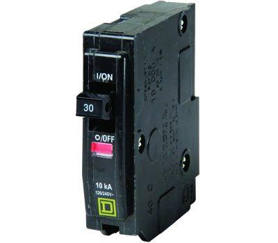 Square D QO130C Circuit Breaker 1P 3/4In 30Amp 1 Pack