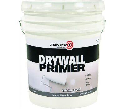 Zinsser 01500 Drywall Primer Water-Based White 5 Gallon