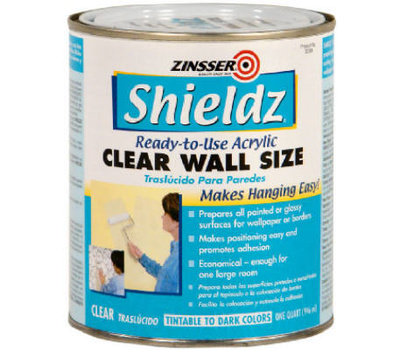 Zinsser 02104 Shieldz Primer Sizer Wallcovering Acrylic Quart