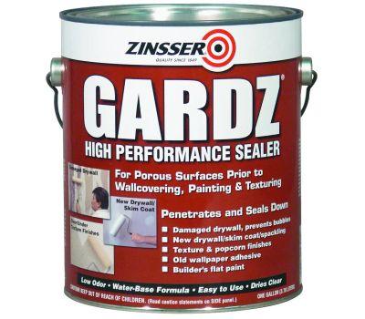 Zinsser 02301 Gardz Problem Surface Sealer Water-Based Clear Gallon