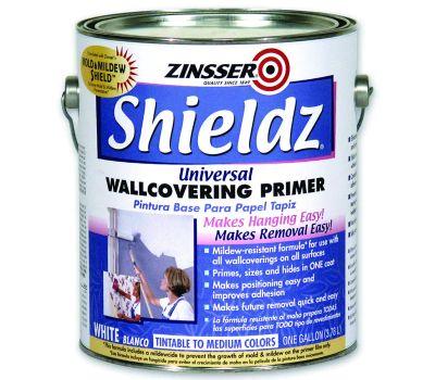 Zinsser 02501 Shieldz Universal Wallcovering Primer Sealer Water-Based Gallon
