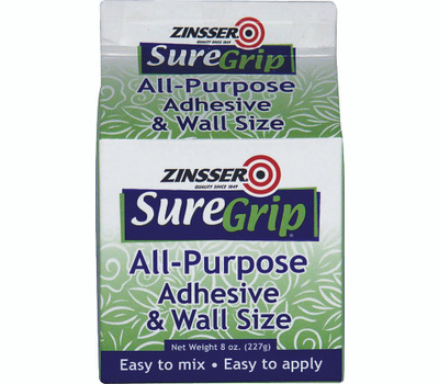 Zinsser 62008 Sure Grip All-Purpose Adhesive & Wall Size 8 Ounce