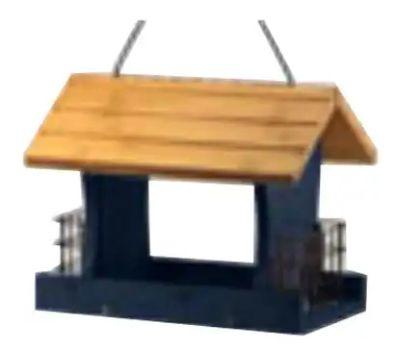 Woodlink 24003 12 Inch Blu Wd Bird Feeder