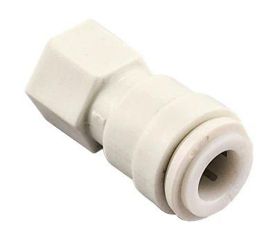 Watts Water PL-3065 Pipe Adapter, 3/8 X 1/4 in, Tube X Fip, Plastic, 150 Psi Pressure