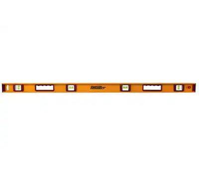 Johnson Level 1234-4800 I-Beam Level, 48 in L, Magnetic, Aluminum