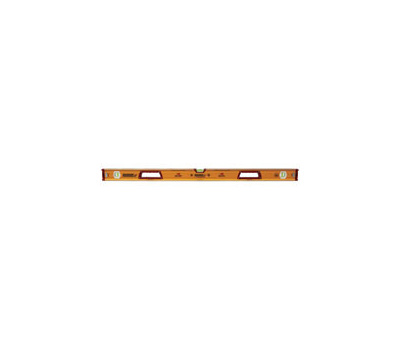 Johnson Level 1718-4800 Box Level, 48 in L, 3 -Vial, Magnetic, Aluminum, Yellow
