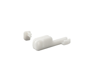 Prime Line M6090 193051 Sliding Shower Door Bottom Nylon Guides 2 Pack