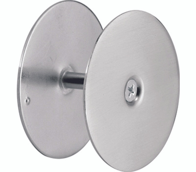 Prime Line U10446 Defender Security Hole Cover For Doors 2-5/8 Inch Diameter Satin Nickel