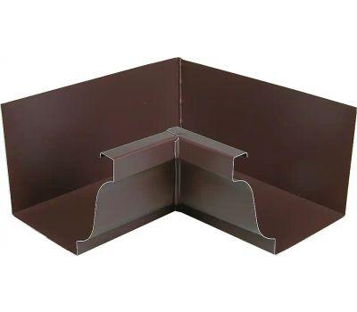 Amerimax 2520119 Aluminum Inside Mitre 5 Inch Brown