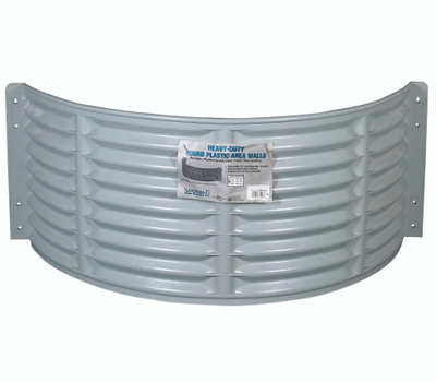 Amerimax 75204 Plastic Area Window Well 37 By 16 By 12 Inch High