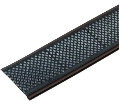 Amerimax 86379 Snap-In Gutter Filter 3 Foot Brown