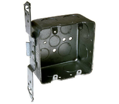 Raco 685 2 Gang Box With Bracket 3/4 Inch Knockouts