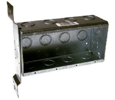 Raco 687 4 Gang Switch Box 2 1/2 Deep