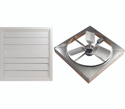 LL Building WHFS24M Masterflow Whole House Fans Direct Drive 24 Inch