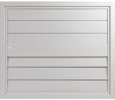 LL Building S30 Masterflow 30 Inch Whole House Automatic Fan Ceiling Shutters