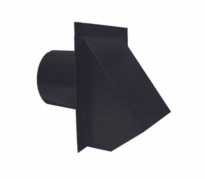 LL Building WVA4BL Master Flow Round Wall Vent, 4 in Duct