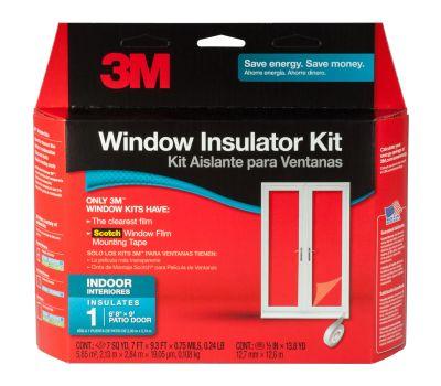 3M 2144 W-6 Patio Door Insulator Kit Indoor