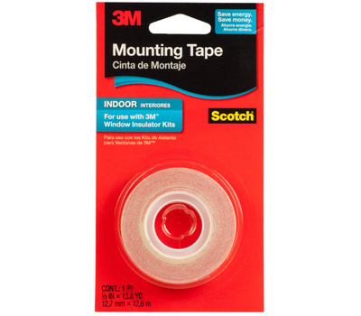 3M 2145C Indoor Window Film Mounting Tape 1/2 Inch By 500 Inch