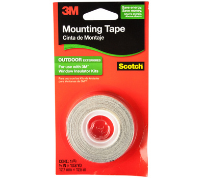 3M 2175C Scotch Exterior Window Film Mounting Tape 1/2 Inch By 497 Inch