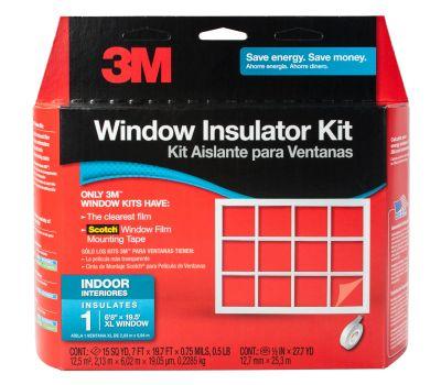 3M 2149W-6 Interior Window Insulator Kit For Oversized Windows