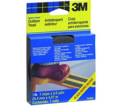 3M 7634 Safety Walk Anti Slip Step And Ladder Tread Strip Black 1 By 180 Inch