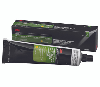 3M 8001 Weatherstrip Adhesive, 5 Ounce