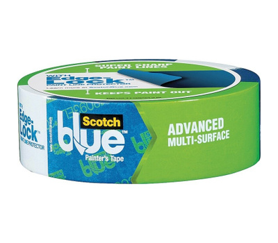 3M 2093-36NC Scotch 1.41 Inch By 60 Yards Blue Advanced Painters Tape With Edge Lock