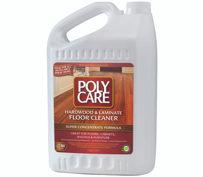 Absolute Coatings 70001 Polycare Hardwood And Laminate Super Concentrate Cleaner Gallon