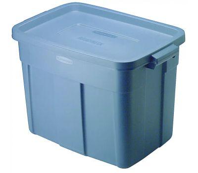 United Plastics 2215-CP-DIM Blue Mist Tote 18 Gallon