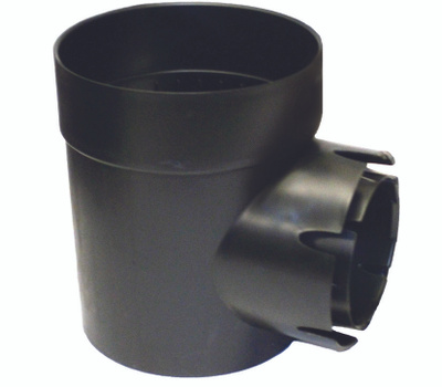NDS 101-AST 6 Inch Single Outlet Catch Basin