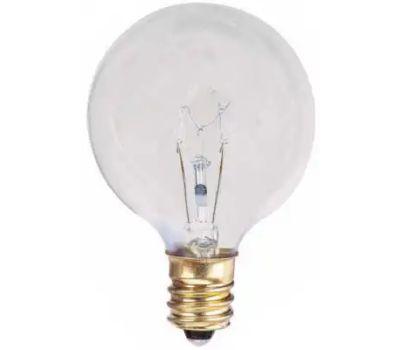 Globe Electric 70824 WestPointe 40 Watt Clear Globe Bulb